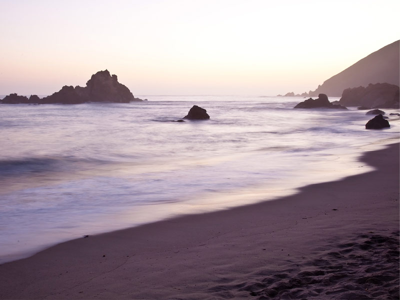Visit One Of The World S Few Purple Sand Beaches Nearby Hotels