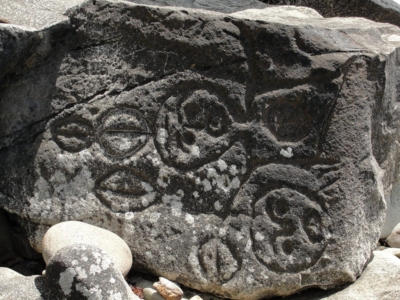 Petroglyphs on the Ozette Triangle