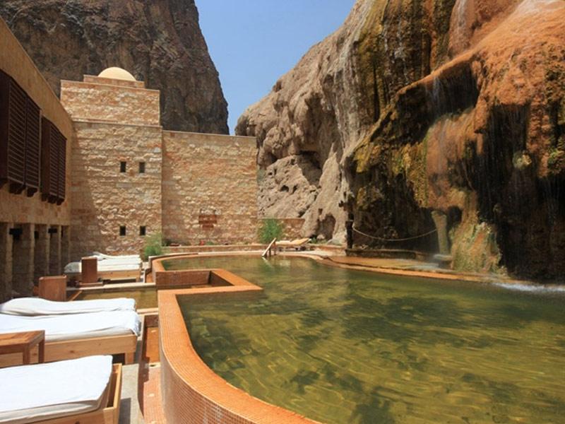 Six Senses Spa, Evason Ma'In Hot Springs, Jordan