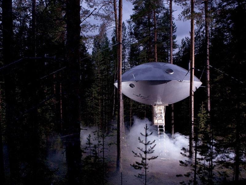 Treehotel, Harads, Swedish Lapland