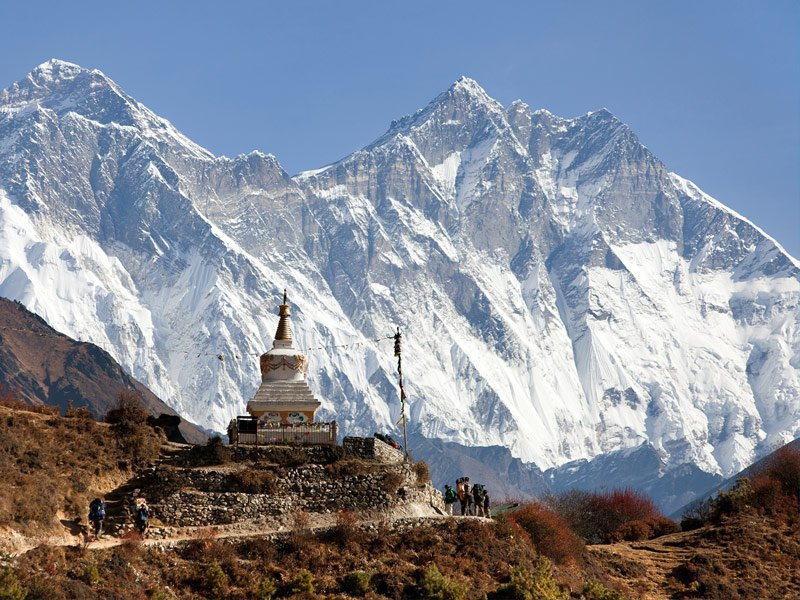 The Top of Mount Everest, Nepal