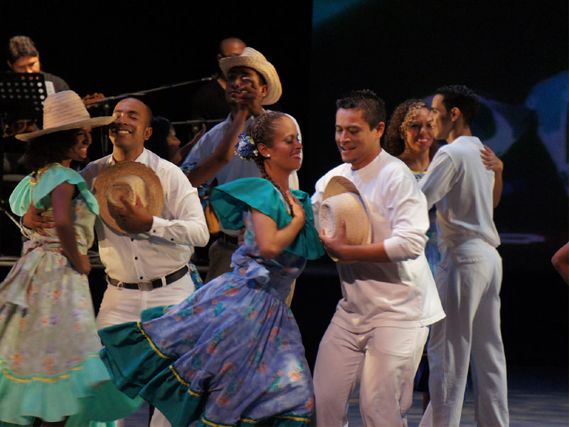 Joropo Dancers