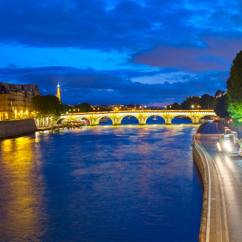 Save Download Preview La Conciergerie and Pont Neuf, Paris, France