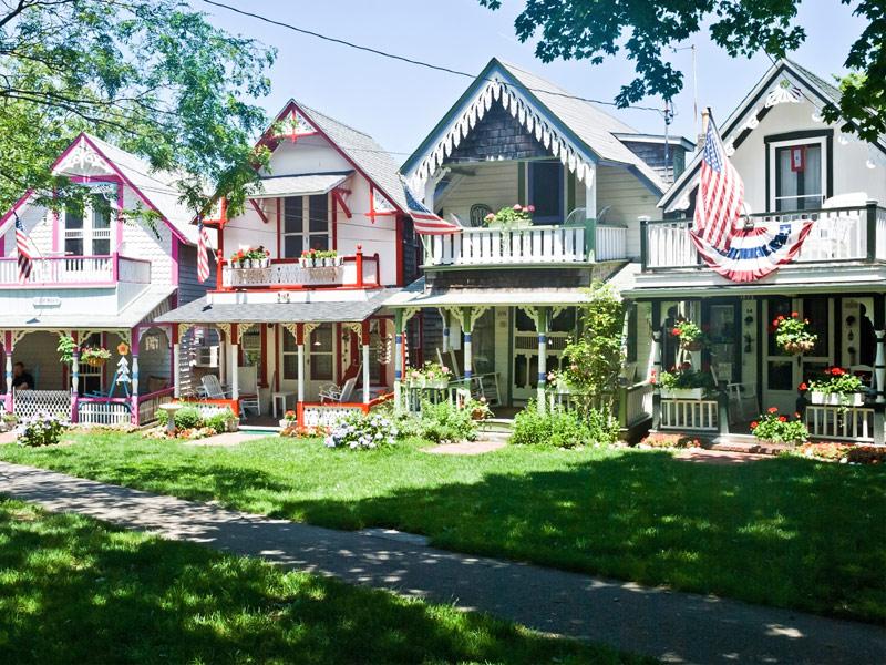 Oaks Bluff, Martha's Vineyard, Massachusetts