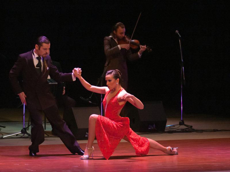 Tango Performance in La Boca