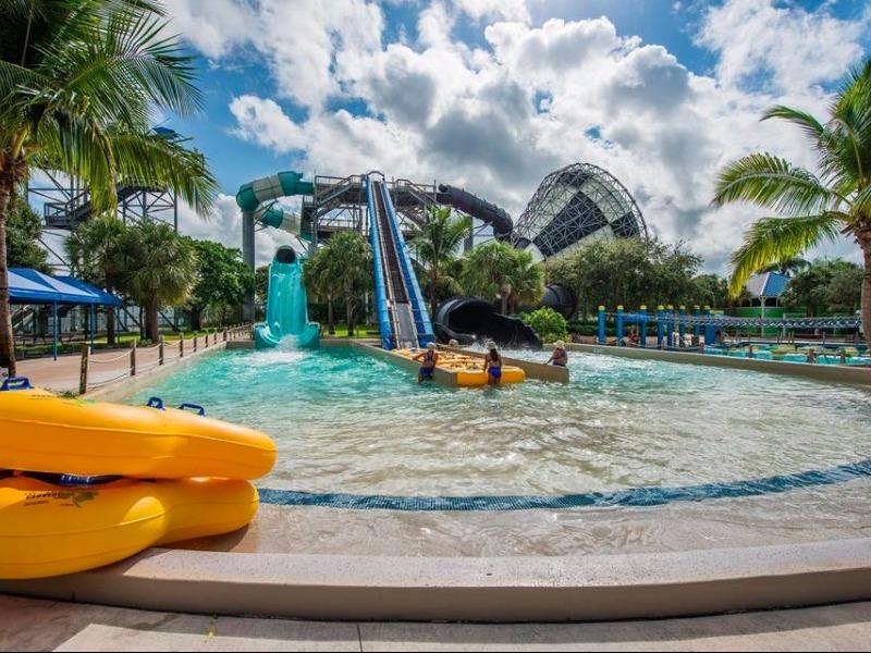 Water Slides Rapids Park