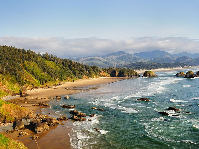 Ecola State Park Overlook Cannon Beach