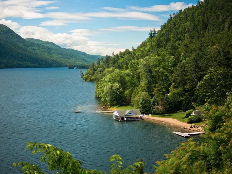 Lake George Adirondack Mountains