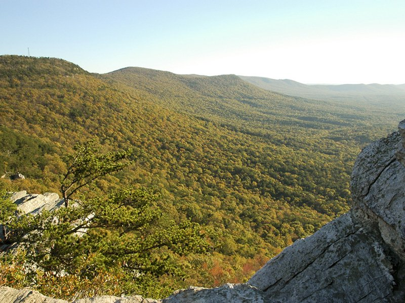 Cheaha State Park overlook