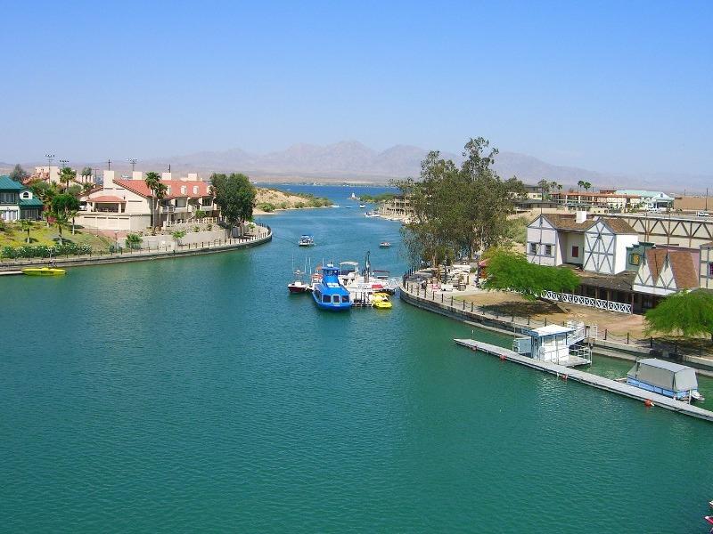 View from London Bridge, Havasu City