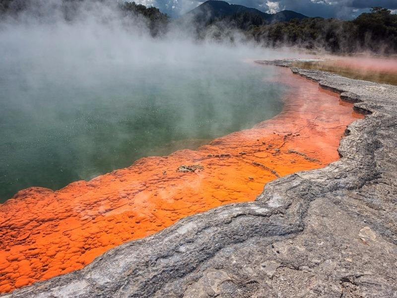 geothermal wonderland at Rotorua