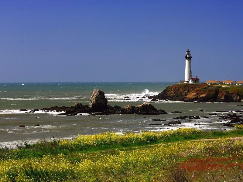Pigeon Point Lighthouse at Pescadero