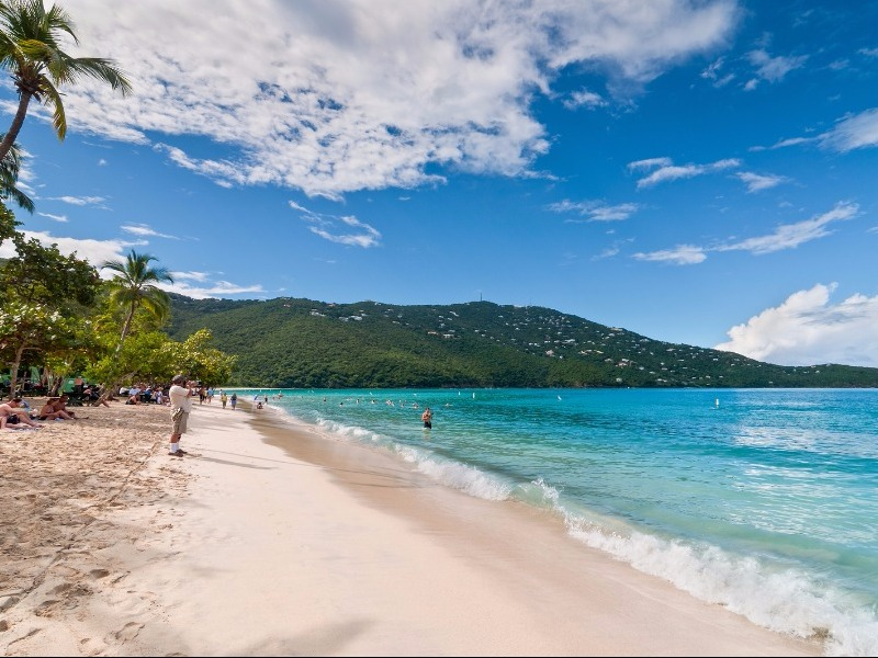Magens Bay Top  Beaches In The World