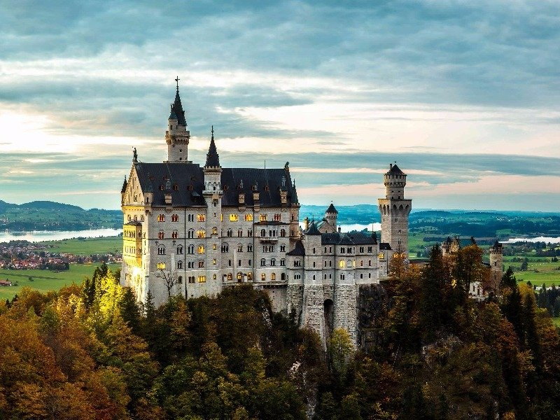 Neuschwanstein Castle Schau Germany