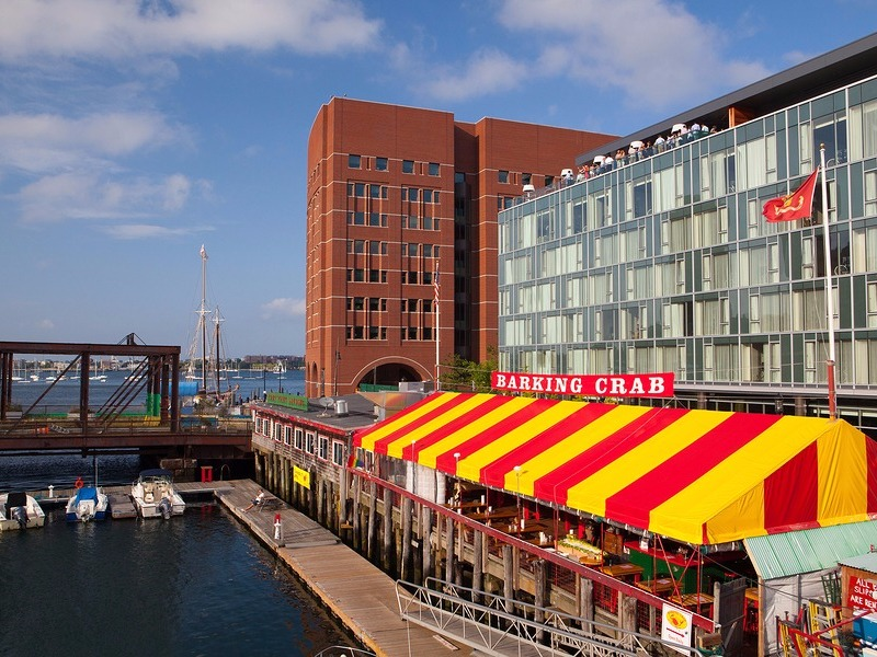nhà hàng hải sản ở Boston