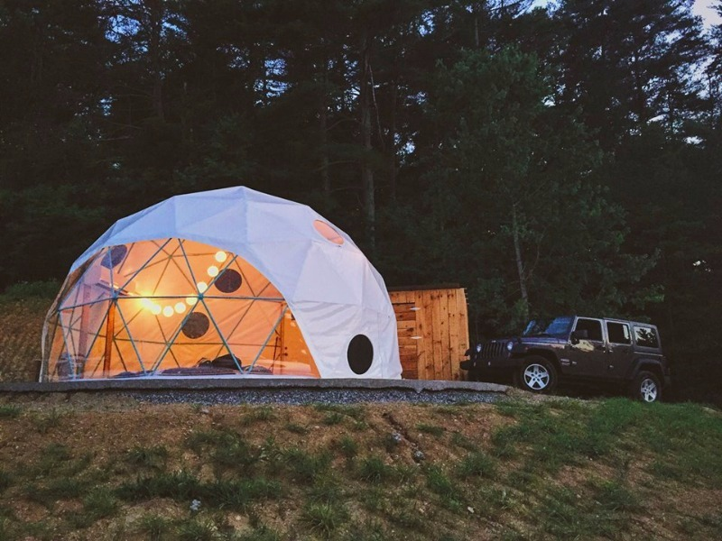 10 Best Glamping Sites In North Carolina Budget Friendly