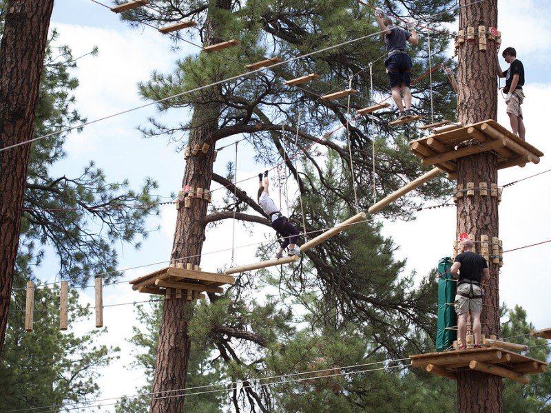 Test Your Limits At Flagstaff Extreme Adventure Course