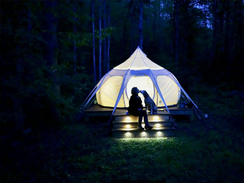 10 Best Glamping Sites in North Carolina (Budget-Friendly