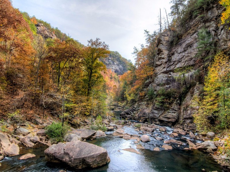 Spend The Day Hiking And Swimming At Georgia S Tallulah
