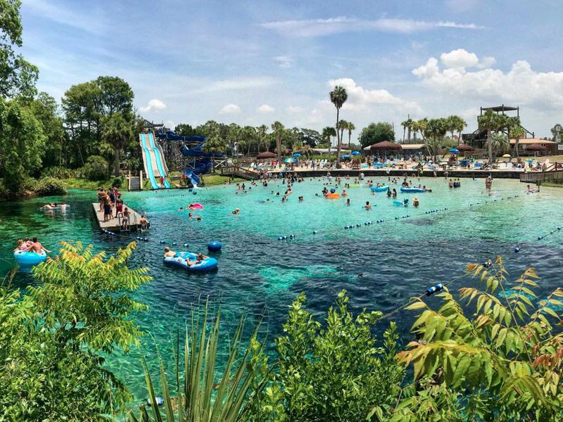 Buccaneer Bay Water Park Florida At