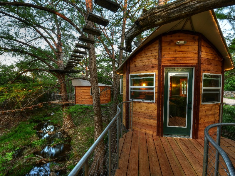 A Tree Top Adventure At Cypress Valley Canopy Tours In Texas