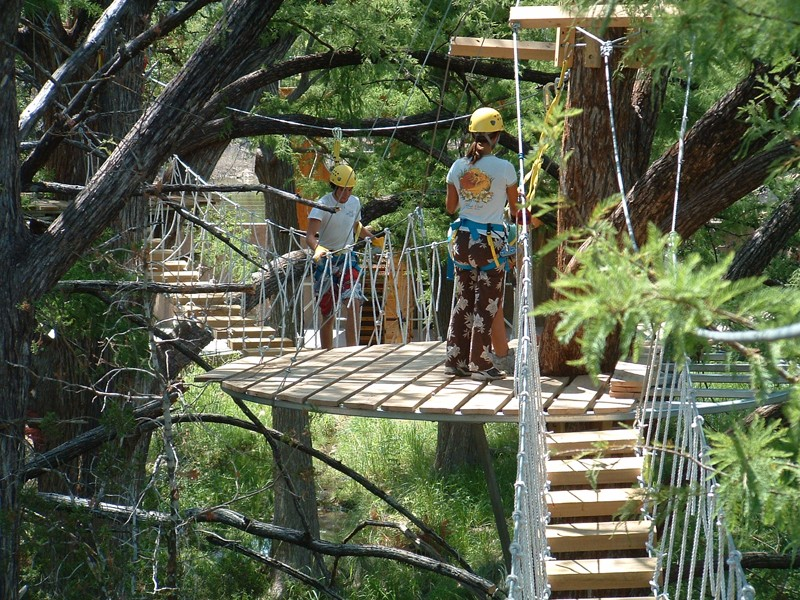 A Tree Top Adventure At Cypress Valley Canopy Tours In