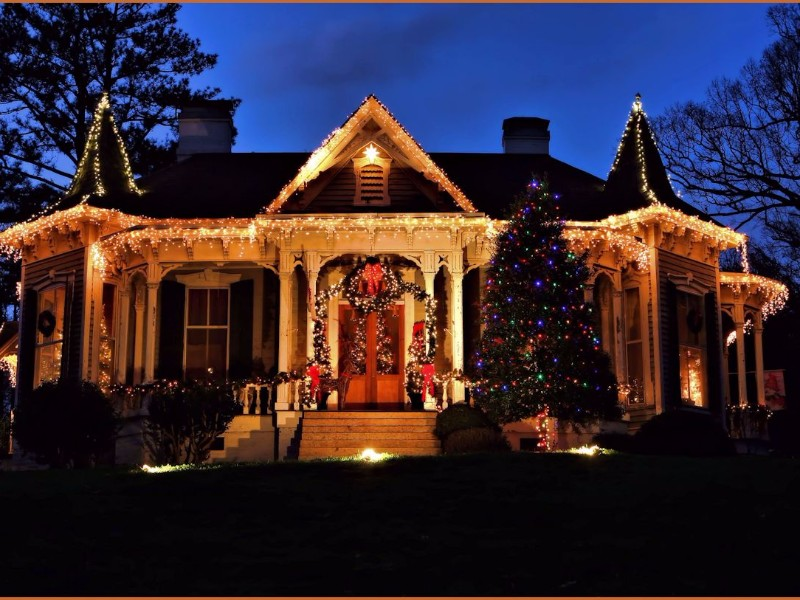 McAdenville, North Carolina is Christmas Town U.S.A. ...
