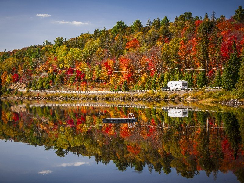 8 Best Places In Canada For Fall Color on Color By Addition