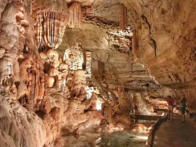 Journey Beneath The Texas Soil At Natural Bridge Caverns