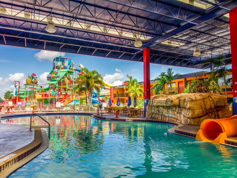 Top 10 Coolest Hotel Pools In Orlando Best Pools W Photos Trips To Discover