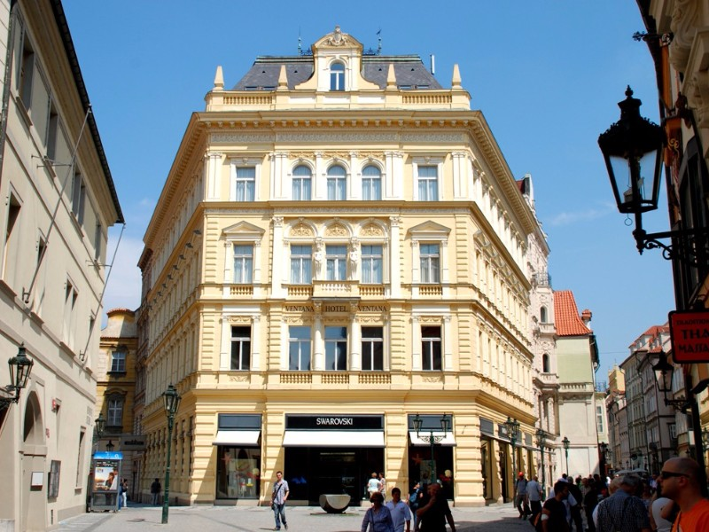 10 best hotels in prague for 2018 with photos for Ventana hotel prague