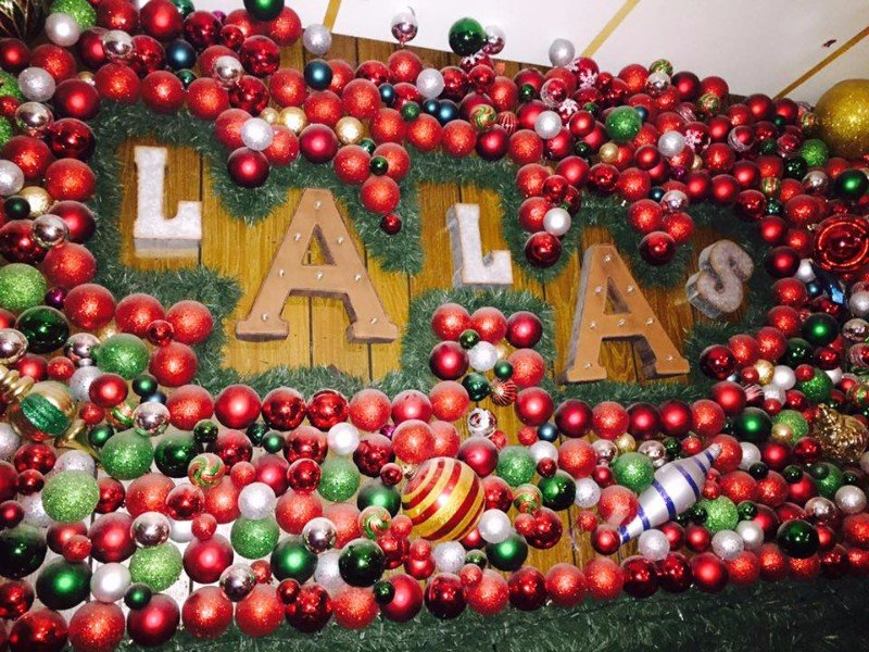 Wall at Lala's - It's Always Christmas At Lala's Little Nugget In Austin, TX