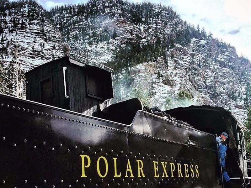 durango polar express durango silverton railroad - Best Christmas Vacation Destinations