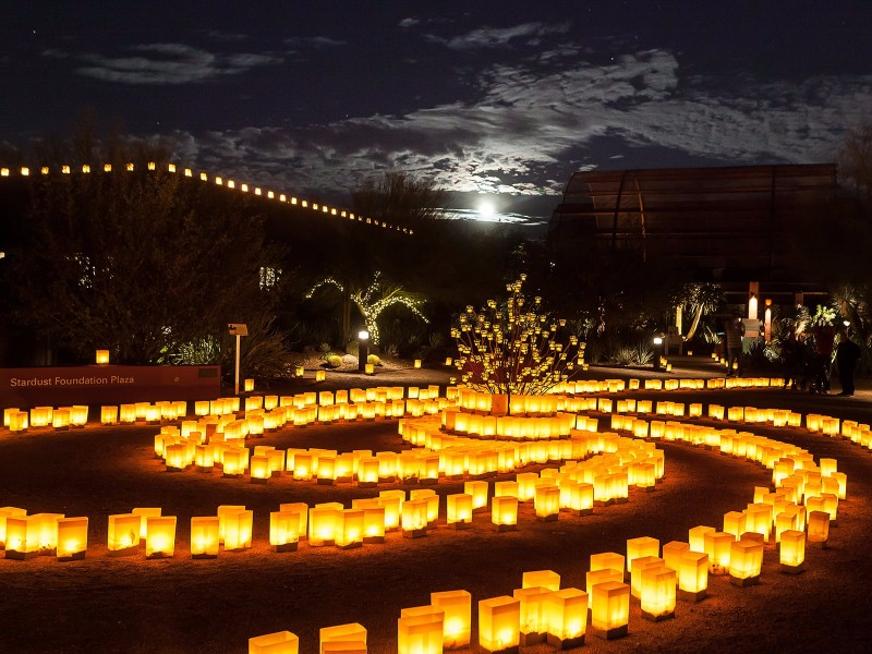 Gentil Enjoy 21 Magical Evenings At Las Noches De Las Luminarias    TripsToDiscover.com