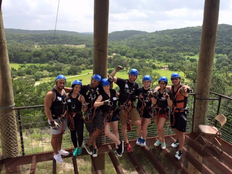 natural bridge caverns zip line