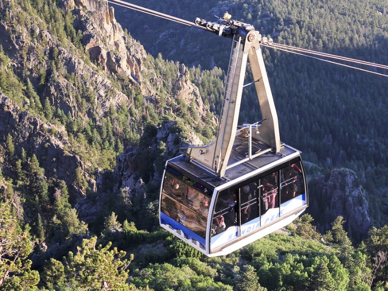 The Sandia Peak Aerial Tramway