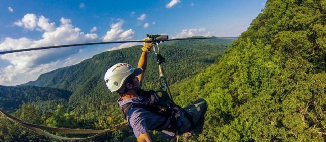 The Steepest & Fastest Zipline Canopy Tour is in North Carolina