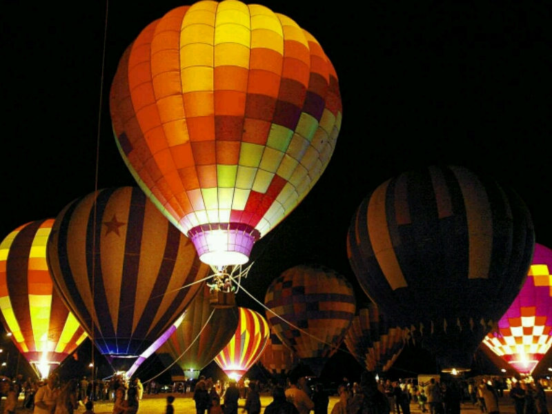 Celebrate St Patrick S Day At This Unique Hot Air Balloon