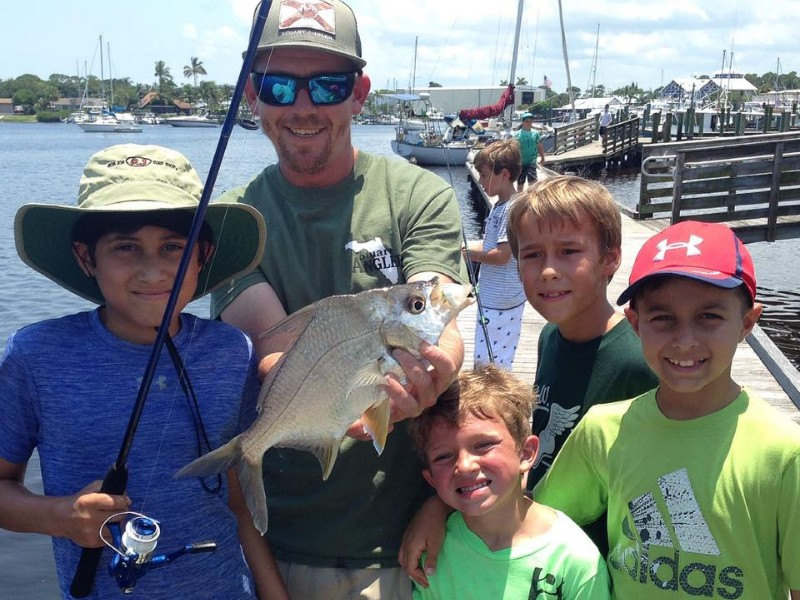 Why kids parents love a summer camp cation in martin for Fishing camps for kids
