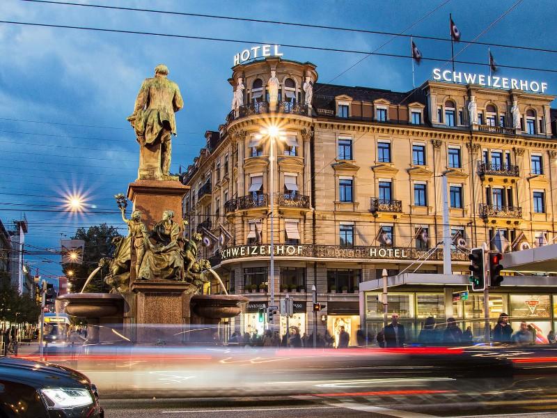 9 Most Incredible Luxury Hotels In Zurich Switzerland Tripstodiscover