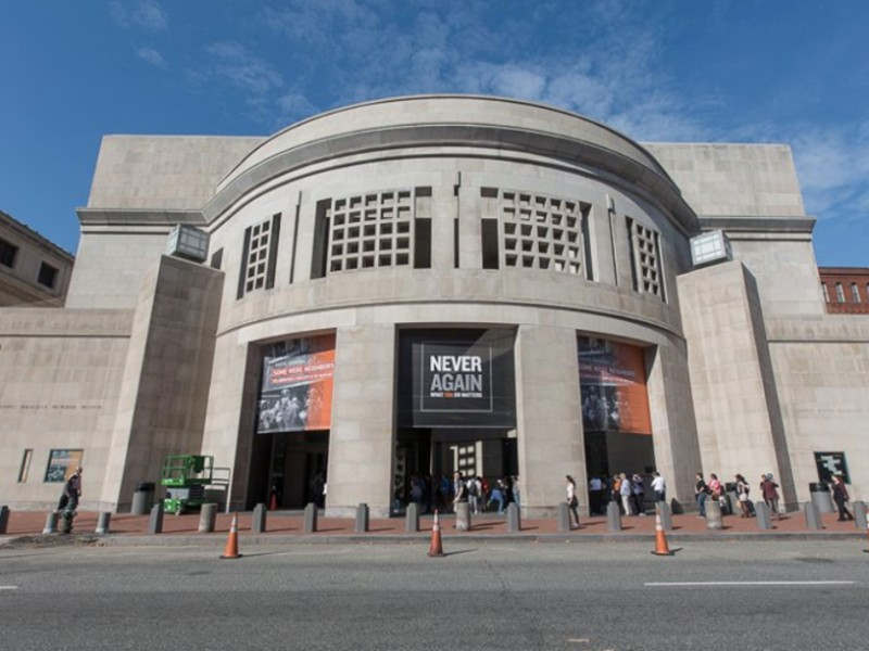The United States Holocaust Memorial Museum in Washington ...