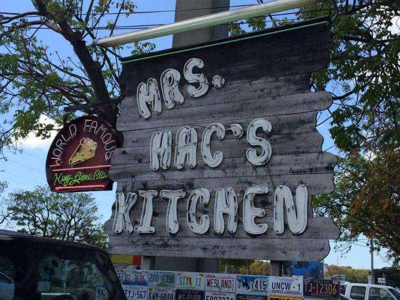 Mrs Mac S Kitchen In Key Largo
