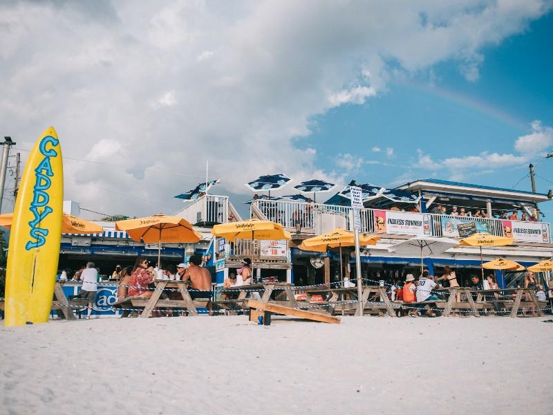 Caddy S On The Beach Treasure Island