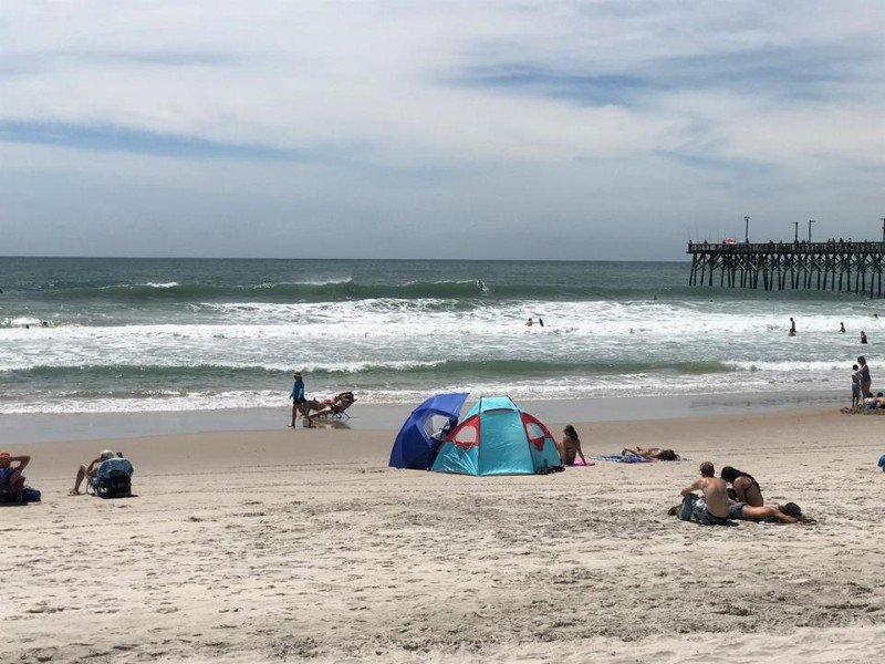 Surf City And Topsail Island The Beach At Is Relaxed Uncrowded