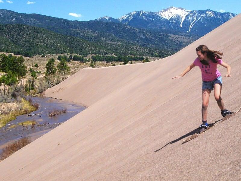 lướt ván cát