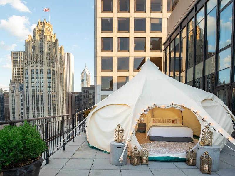 Take Camping to A New Level With These 13 Urban Glamping Destinations