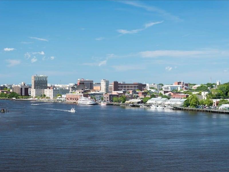 trung tâm thành phố Wilmington