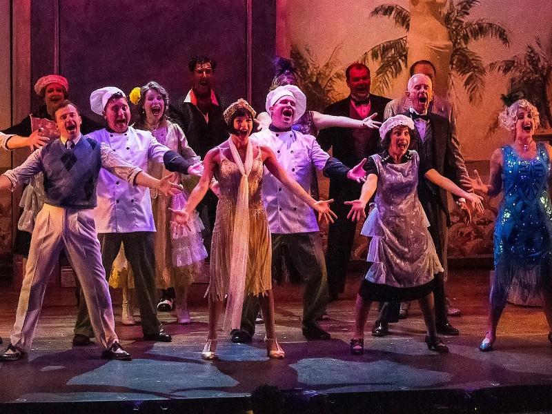 một màn biểu diễn tại Peninsula Players Theatre