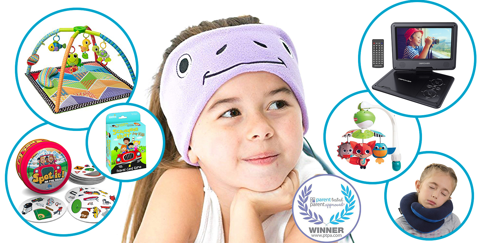 17 Essential Products for Surviving a Road Trip with Kids