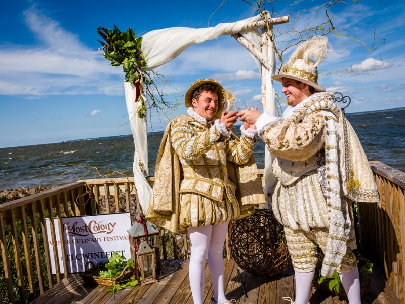 The Lost Colony Wine & Culinary Festival, Manteo